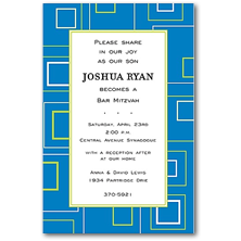 Inviting Company Bar and Bat Mitzvah Party Invitations