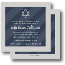 Take Note Designs Bar Mitzvah and Bat Mitzvah Invitations