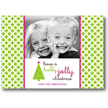 Modern Posh Digital Christmas Photo Cards