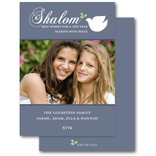 Take Note Designs Digital Rosh Hashana Photo Cards