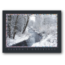Carlson Craft Custom Printed Nature Theme Christmas Greeting Cards