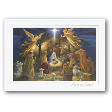 Carlson Craft Custom Printed Religious Themed Christmas Cards