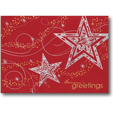 Carlson Craft Season's Greetings Christmas Cards