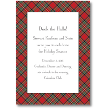 Boatman Geller Christmas Party Invitations