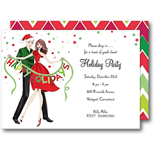 Bonnie Marcus Collection Christmas Party Invitations