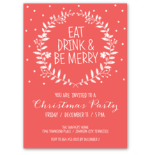 Lauren Chow Designs Christmas Party Invitations