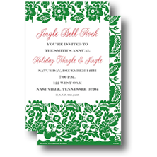 Prints Charming Paper Christmas Party Invitations