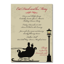 Take Note Designs Christmas Party Invitations