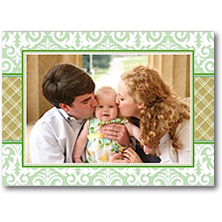 Prints Charming Paper Christmas Stick-on Photo Cards