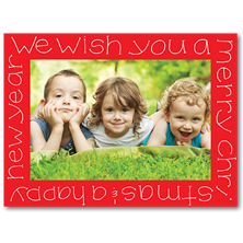 Robin Maguire Stick-on Christmas Photo Cards