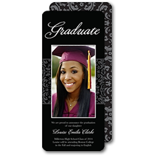 Tumbalina Graduation Announcements and Invitations