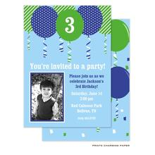 Prints Charming Paper Kids Party Invitations