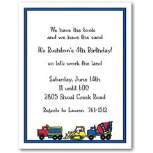 Sweet Pea Designs Kids Party Invitations