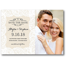 Bonnie Marcus Save the Date Cards