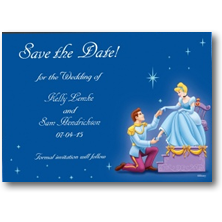Disney Save the Date Cards and Magnets