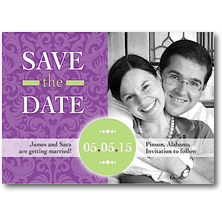 Lauren Chow Save the Date Cards