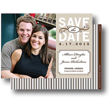 Prints Charming Paper Save the Date Cards