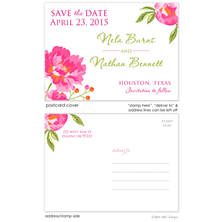 Take Note Designs Save the Date Postcards