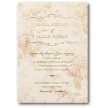 Carlson Craft Vintage Wedding Invitations