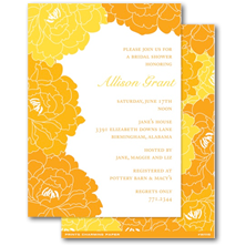 Prints Charming Paper Bridal Shower Invitations